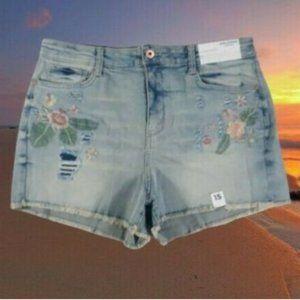 Arizona Jean Co Women Jeans Hi-Rise Shortie Sz 15